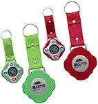 Compass Key Rings